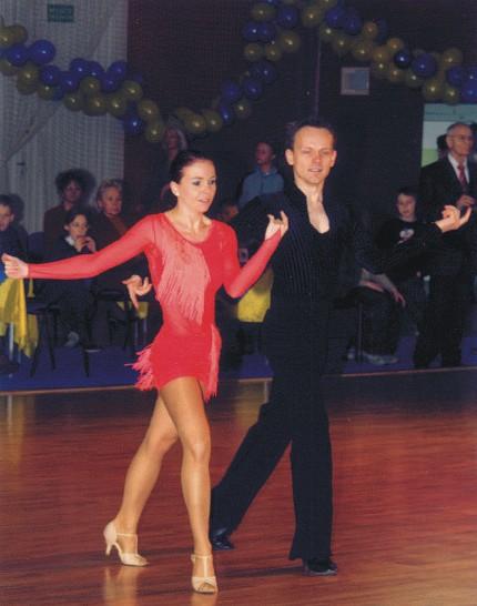 Tańczę sambę na jednym z turniejów